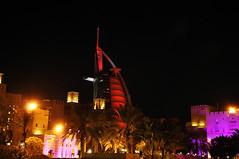 Madinat Jumeirah - Burj Dubai (claudiopink80) Tags: al dubai arab uniti arabi jumeirah burj madinat emirati