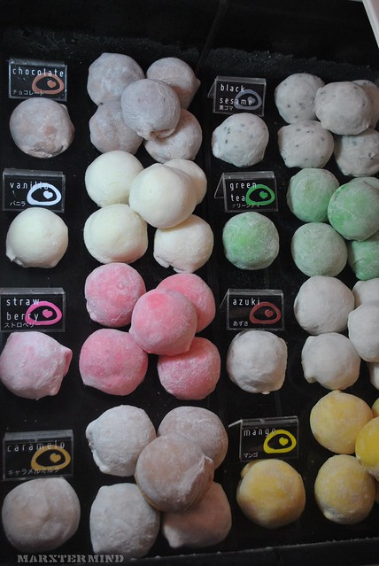 Mochi Ice Cream at Mochiko