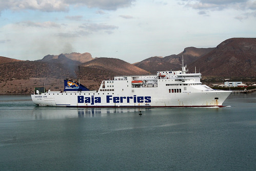 La Paz - Baja Ferries Leaving