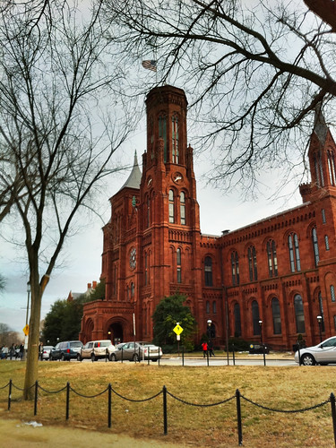 Smithsonian Castle, HDR