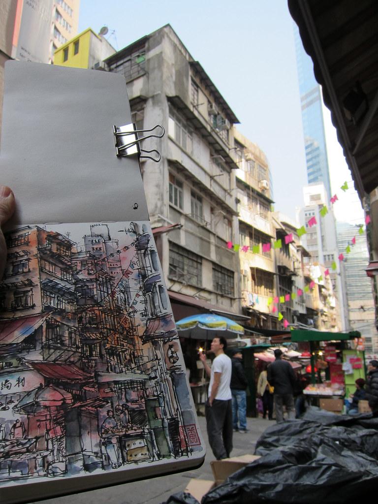 Peel Street, HK