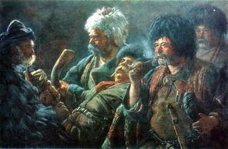 ხევსურთა ღრეობა ~ Khevsurs Feast