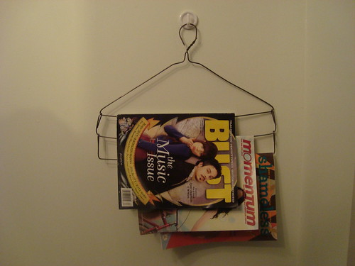 magazine rack i made