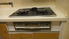 20110117-瓦斯爐安裝完成