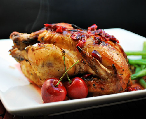 Crockpot Cherry Cornish Hen