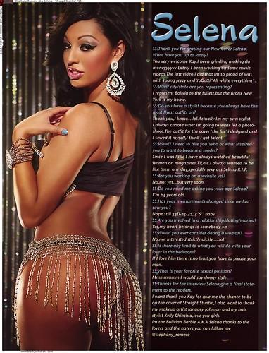 Stephany Romero aka Selena Straight Stuntin Magazine pictures