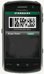 Starbucks Mobile payment