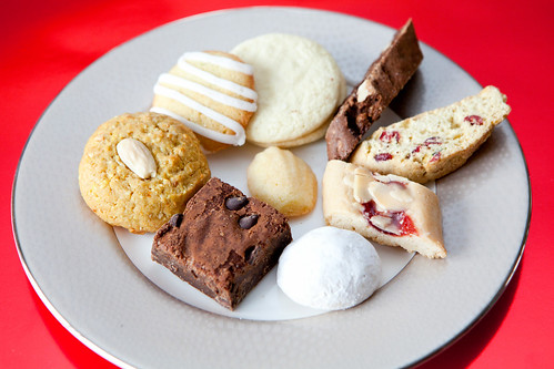 Plate of cookies - Valentine's Day Assortment