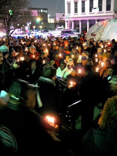 MLK Vigil