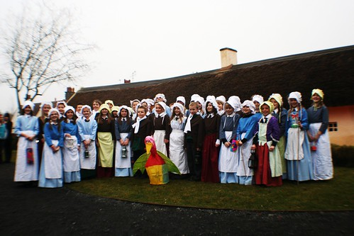 Choir at Burns Cottage, Alloway