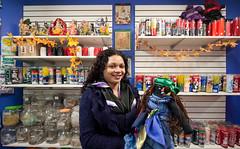 Store owner and her Voodoo doll: Bushwick (Chris Arnade) Tags: newyorkcity brooklyn bushwick voodoo chrisarnade