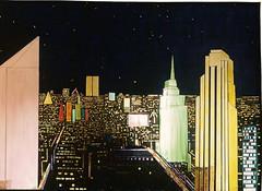 city by night 110x80 (Simaise) Tags: city newyork ville mgapole