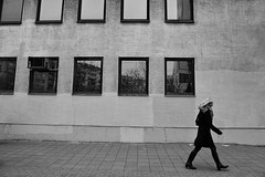 (Nick-K (Nikos Koutoulas)) Tags: street windows people bw nikon nikos passing belgrade beograd f4 vr nickk 1635mm   d700  gvr1 koutoulas