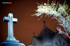 Una Noche en el Cementerio (PedroRivas) Tags: 50mm noche lima perú tumba cruz terror 5d cemeterio presbiteromaestro crita 5dmarkii 5dm2 pedrorivas