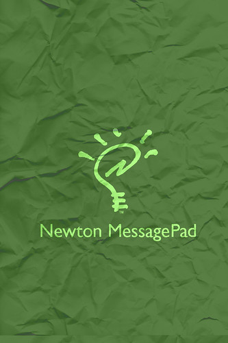 iPhone wallpaper - Green Newton