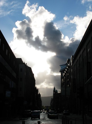 Sudden Cloud on Chichester Street