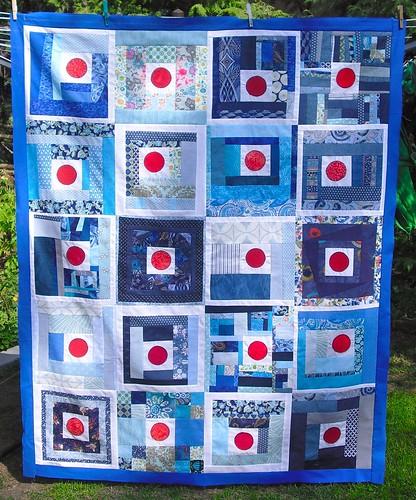 Japan Quilt Top