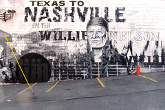 WILLIE (berlyjen) Tags: mural nashville cone tennessee willienelson musiccity 2011 parkinglines