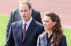 威廉王子携未婚妻祭拜黛安娜