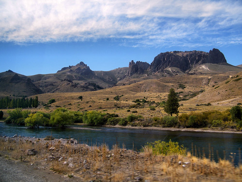 Limay River | Río Limay, Patagonia, Argentina by katiemetz, on Flickr