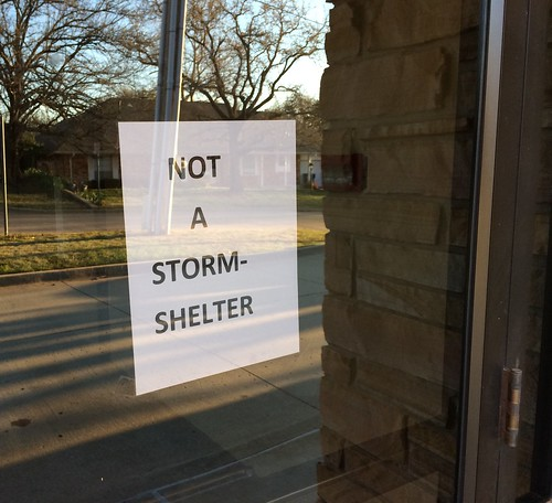 Not a Storm shelter by Wesley Fryer, on Flickr