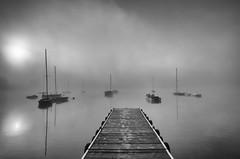 Misty morning (Mirek Pruchnicki) Tags: pentax radymno samyang14mm zek autumn boat fog lake landscape misty morning morninglight softlight województwopodkarpackie polska