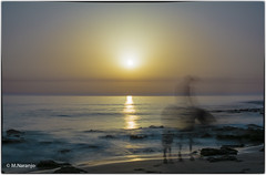 _MJN_El jinete fantasma (M.Naranjo) Tags: zahora playa jinete cdiz sol de puesta