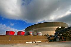 New Orleans Superdome (stormdog42) Tags: sports architecture louisiana exterior stadium neworleans saints superdome