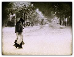 Plead… (CyrusMafi) Tags: poverty seattle street winter bw usa white snow cold tree beauty sepia canon eos poetry poem secret homeless poor snowstorm photojournalism filter harmony soul 5d envy fabulous blackand tranqility cs3 beautysecret supershot sillhuette abigfave ysplix theunforgettablepictures colourartaward creattiva artofimages cyrusmafi bestcaptureaoi envyysplix