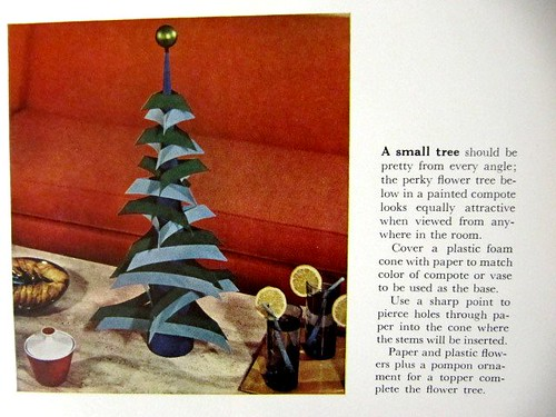 DIY Tabletop Tree: Better Homes and Gardens (1967)
