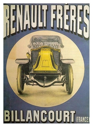 013-Old Vintage Antique Classic Car Posters