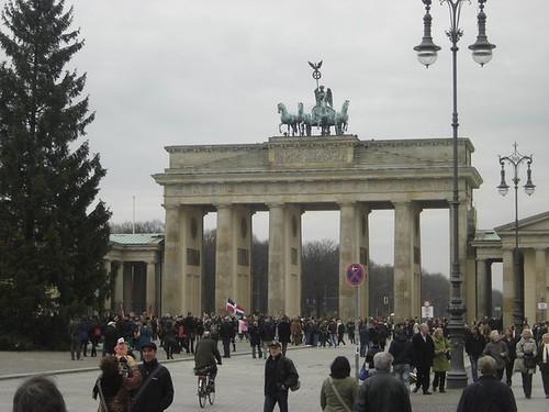 La Bandera dominicana En Berlin