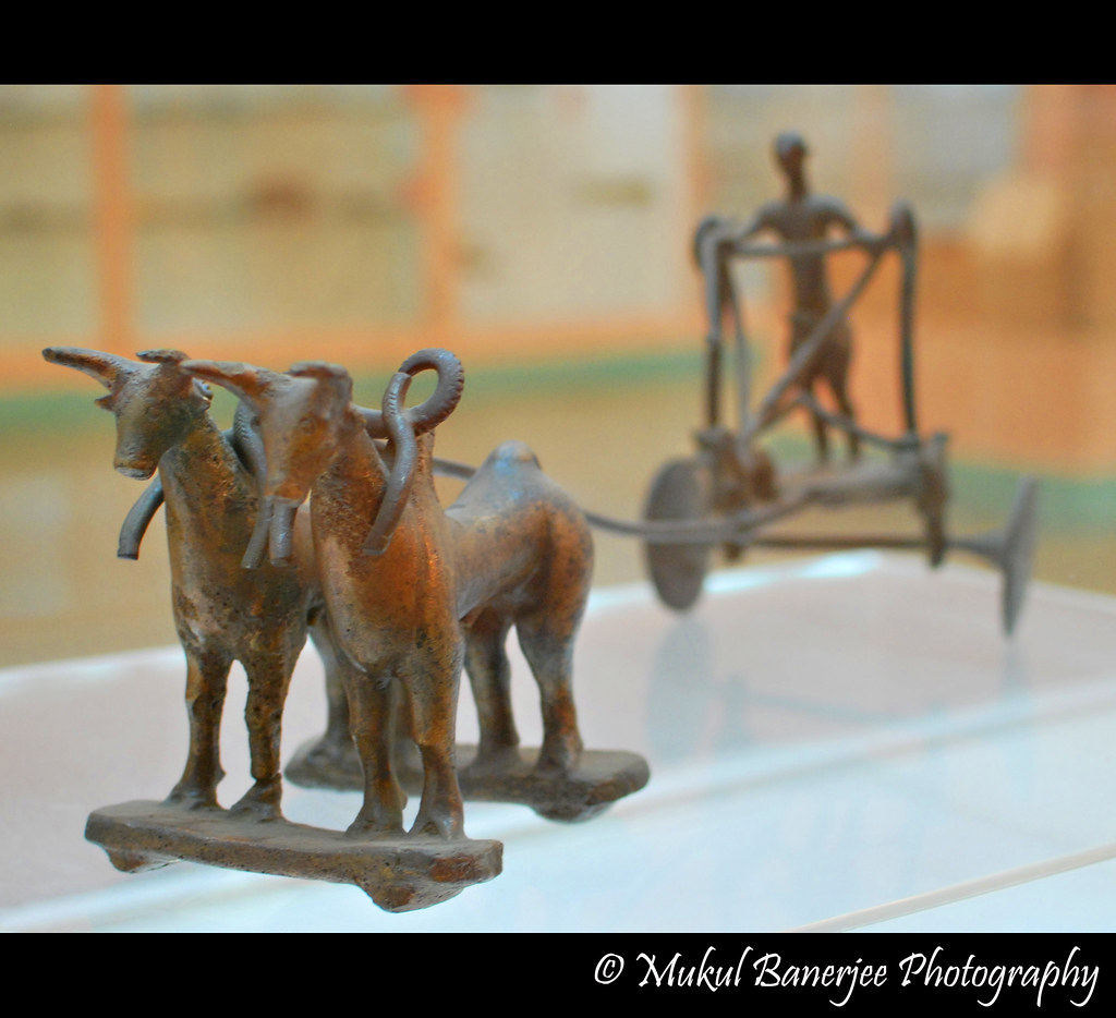 Metal Cart, Mohenjodaro, Indus Valley Civilization