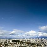 San Francisco downtown panorama view from Twin Peak after the rain :D thumbnail
