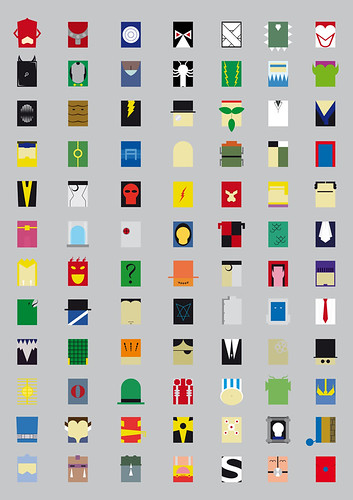 Minimalism Villains (Or Superheroes enemies)