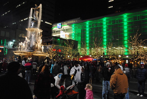 Macy's Light up the Square 2010