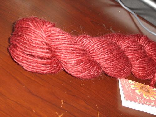 Mirasol Kacha yarn in Red