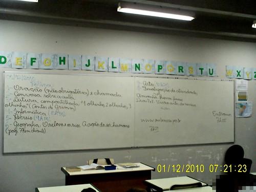 Rotina prevista e cumprida (01/12/2010)