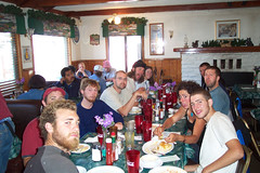 Hiker Breakfast at Thelma's - Big Bear City