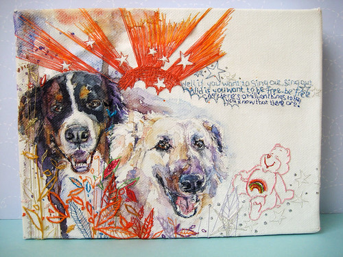 mimilove custom doggie art!