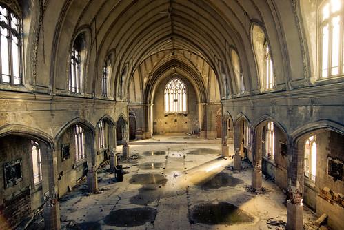 フリー写真素材, 建築・建造物, 廃墟, 教会・聖堂・モスク, アメリカ合衆国,