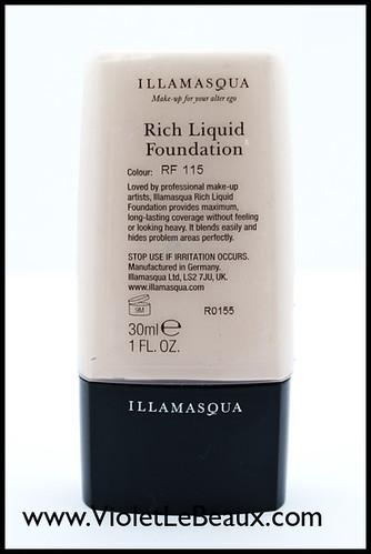 Ilamasqua Rich Liquid Foundation Review