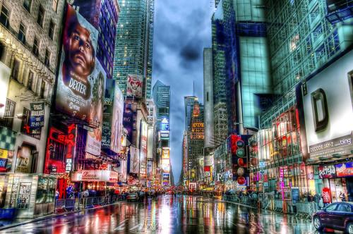 Rainy NYC