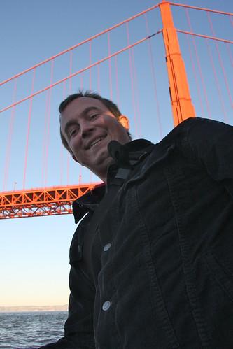 Erik and the Golden Gate Bridge