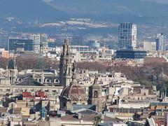 View of Barcelona from Miramar (wallygrom) Tags: barcelona spain catalonia miramar dayfour