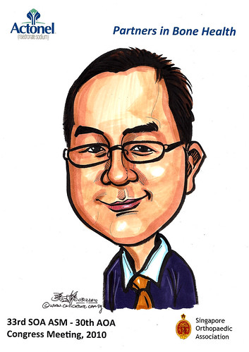 Caricatures for Sanofi-Aventis - 7