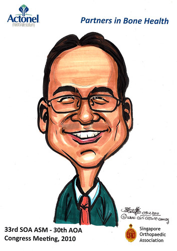 Caricatures for Sanofi-Aventis - 12