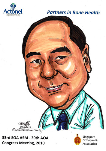 Caricatures for Sanofi-Aventis - 10