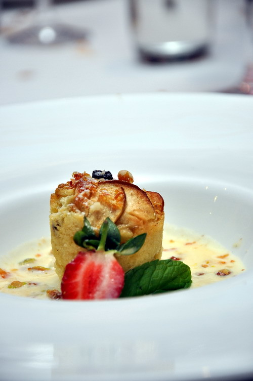 Apple Pudding Marche Renaissance Hotel Kuala Lumpur