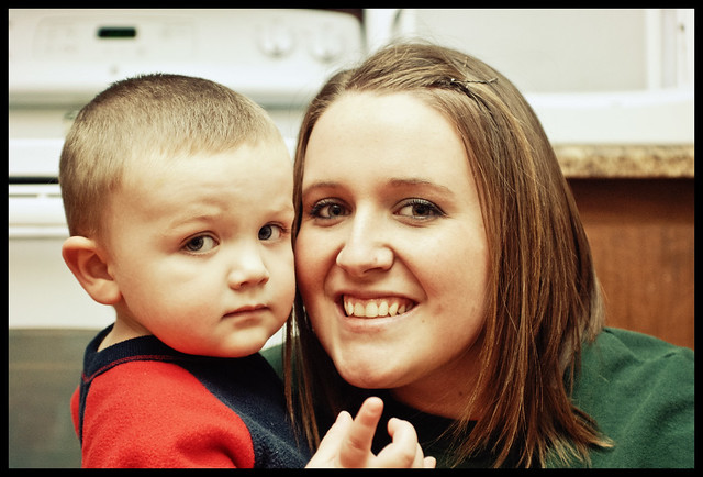 dillon with mommy
